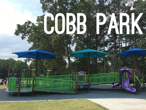 Cobb Park, toddler-friendly playground