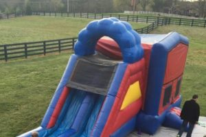 Birthday Party Blues - bounce house