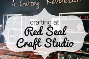 Crafting at Red Seal Craft Studio