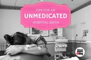 unmedicated hospital birth