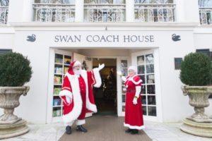 Swan Coach House Santa
