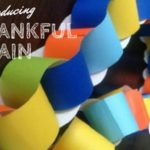 Thankfulness Chain- A Simple Thanksgiving Tradition