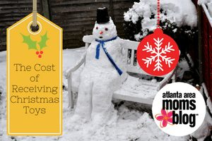 The Cost of Receiving Christmas toys