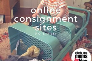 Online Consignment Sales / No Lines | Atlanta Area Moms Blog