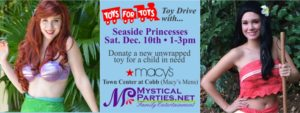 Seaside Toys for Tots