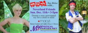 Neverland Friends Toys for Tots