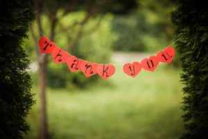 Old-Fashioned Thank You | Atlanta Area Moms Blog