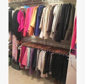 Organizing clothing