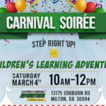 {FREE EVENT ANNOUNCEMENT} Carnival Soiree at Children's Learning Adventure – Milton