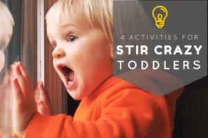 Indoor Activities for Stir Crazy Toddlers | Atlanta Area Moms Blog
