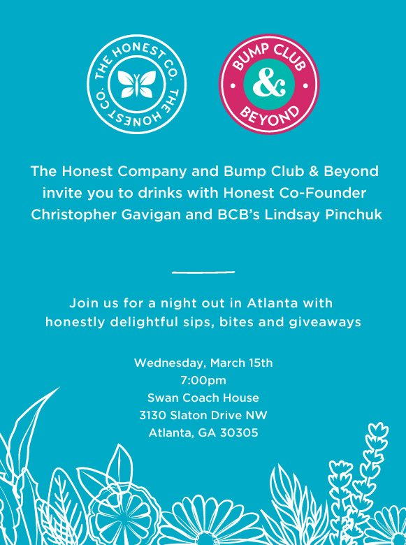 The Honest Company & Bump Club & Beyond Event