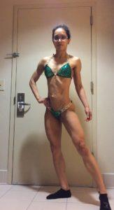 bikini competition 1 week out
