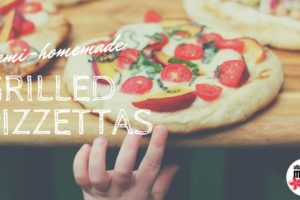 Semi-Homemade Grilled Pizettas | Atlanta Area Moms Blog