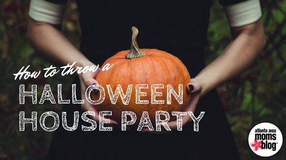 Halloween Open House Party | Atlanta Area Moms Blog |