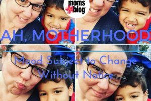 Ah, Motherhood (Mood Subject to Change Without Notice)