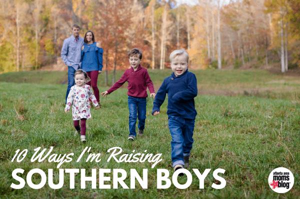 raising southern boys