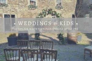 Weddings and Kids: When your plus-one is a little one