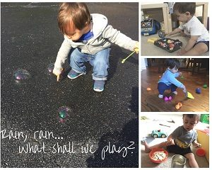 5 Easy Rainy-Day Activities for Toddlers