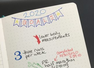 Bullet Journaling to help achieve your goals